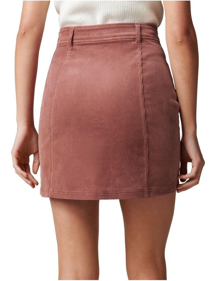 Aurora Petite Cord Mini Skirt image 4