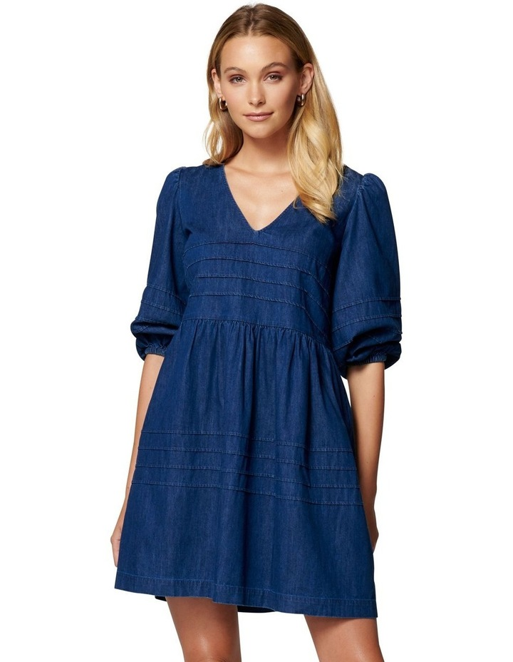 Beatrice V-Neck Babydoll Dress image 1