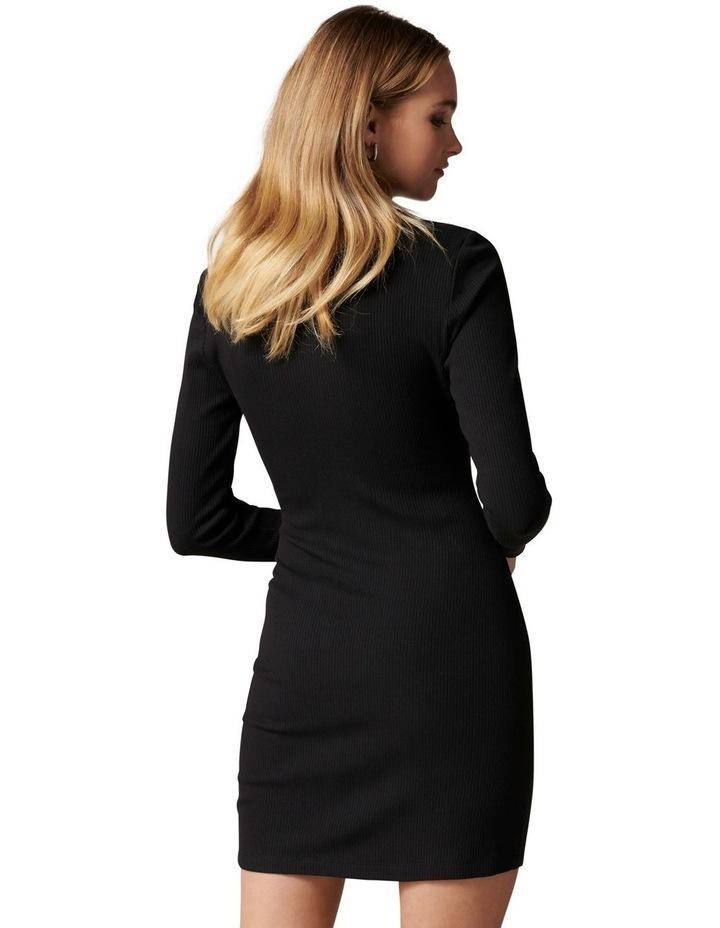 Tara Ruched Jersey Shirt  Dress image 4