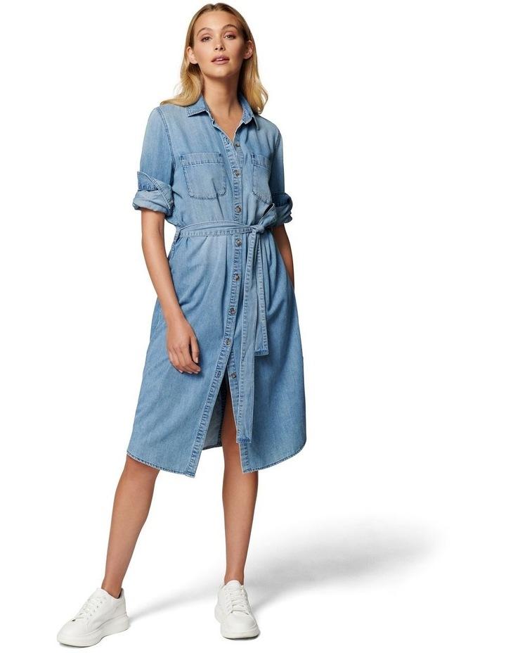 Paige True Denim Shirt Dress image 1