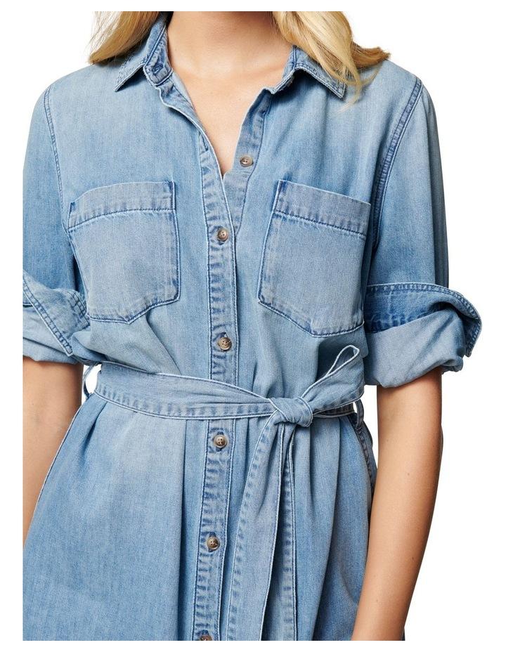 Paige True Denim Shirt Dress image 2