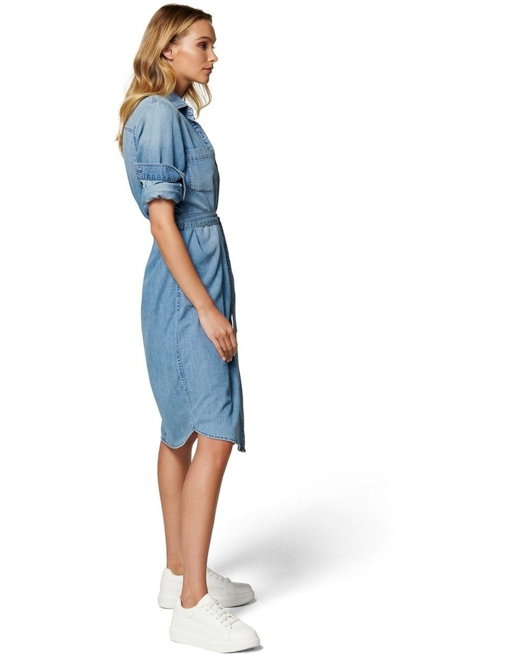 Paige True Denim Shirt Dress image 3