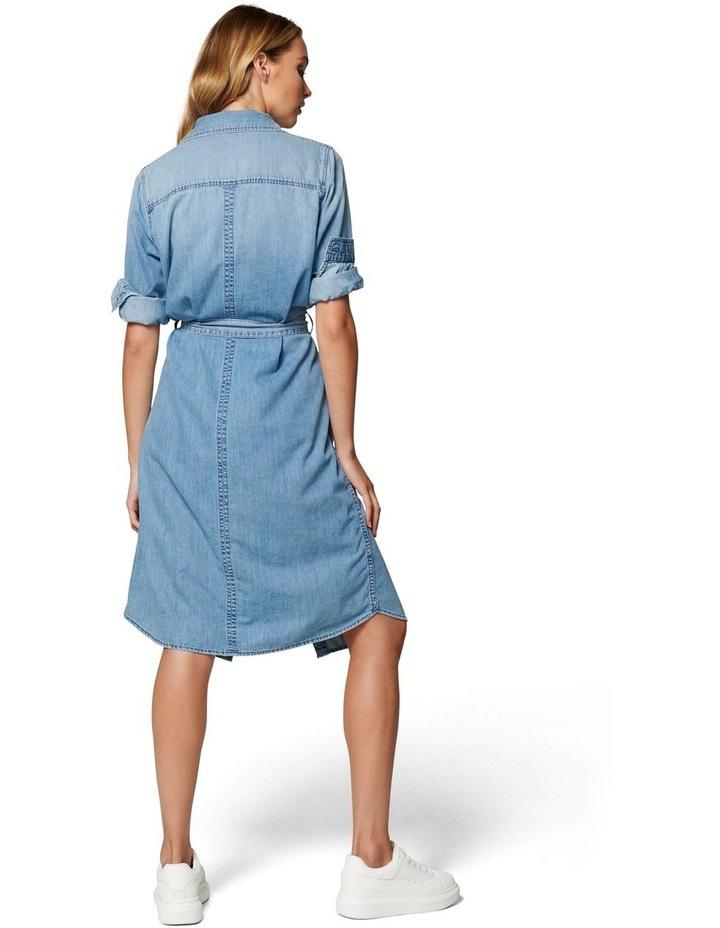 Paige True Denim Shirt Dress image 4