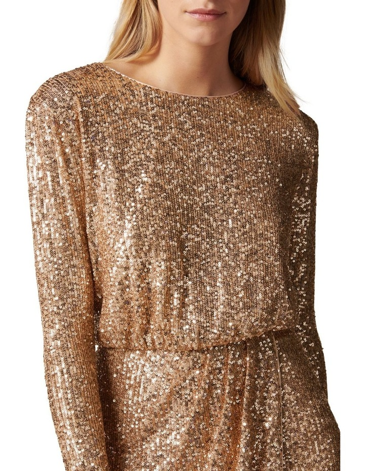 Juniper Sequin Wrap Mini Dress image 2