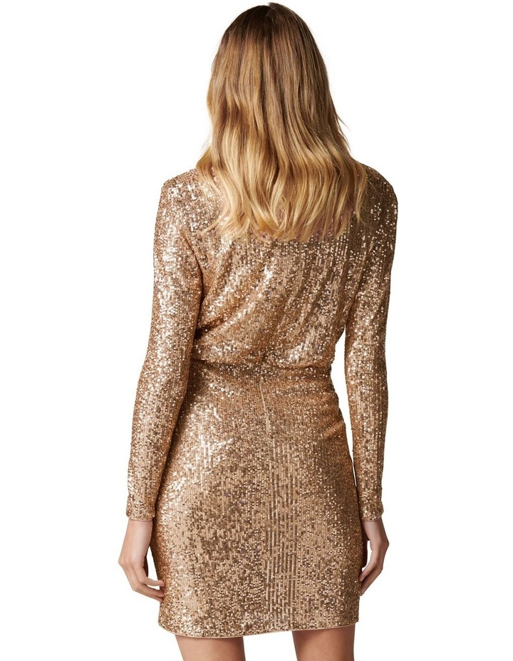 Juniper Sequin Wrap Mini Dress image 4