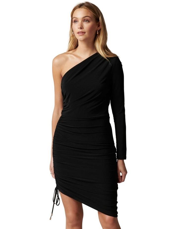 Anabeth One Shoulder Midi Dress image 1