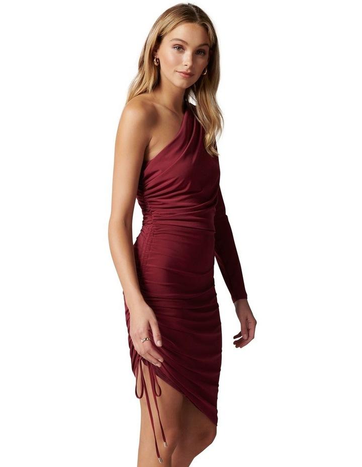 Anabeth One Shoulder Midi Dress image 3