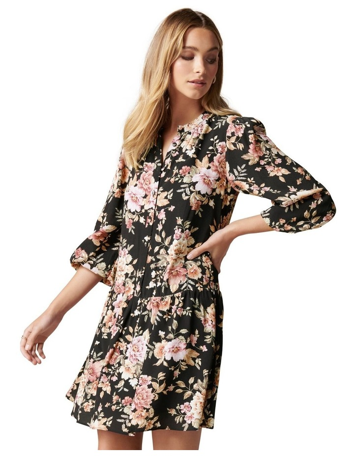 Celine Dropped Waist Smock Dress image 3