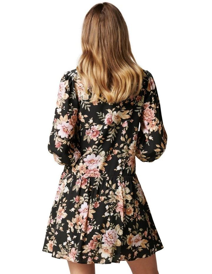 Celine Dropped Waist Smock Dress image 4