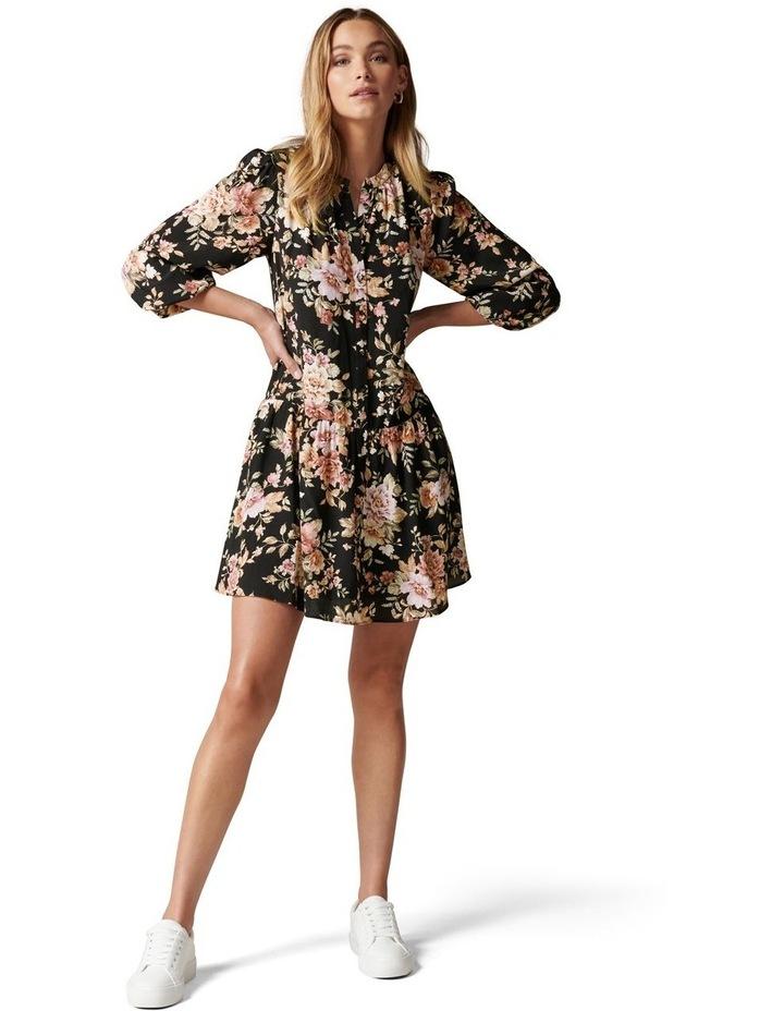 Celine Dropped Waist Smock Dress image 5