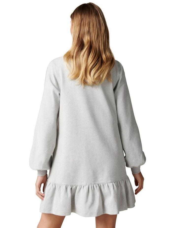 Lori Peplum Sweat Dress image 4