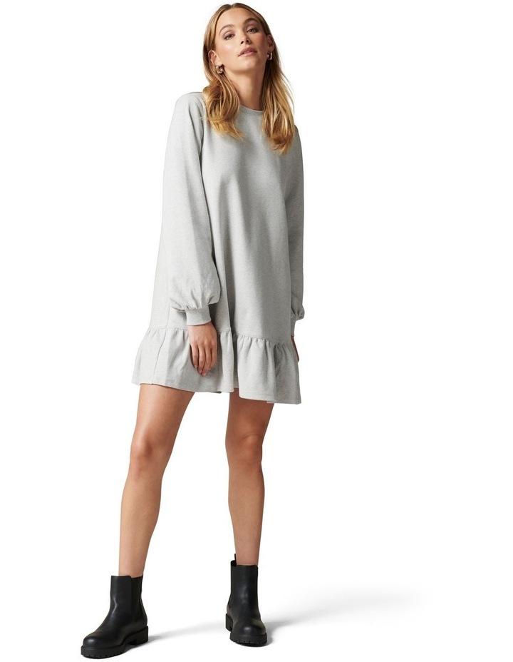 Lori Peplum Sweat Dress image 5