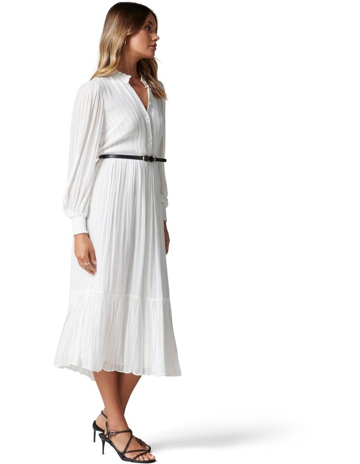 Everly Pintuck Midi Dress image 3
