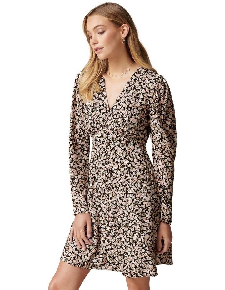 Lucile Long Sleeve Mini Dress image 3