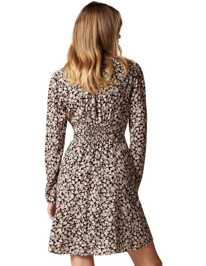 Lucile Long Sleeve Mini Dress image 4