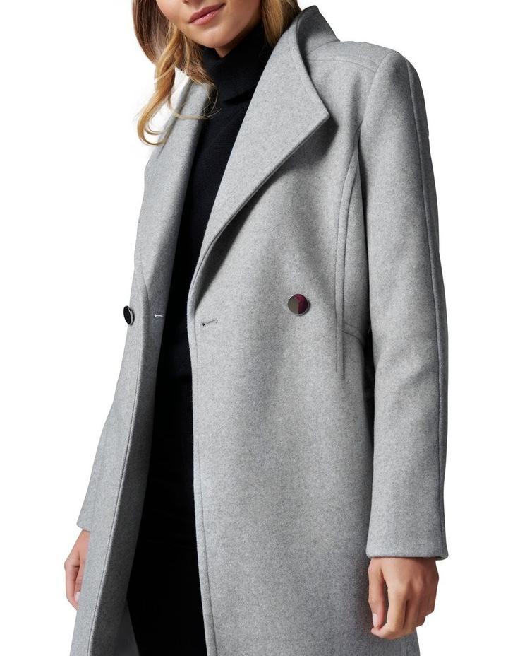 Heather Wrap Coat image 2