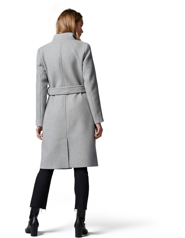 Heather Wrap Coat image 4