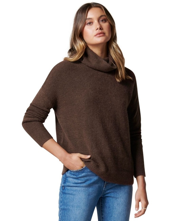 Lilly Roll Neck Knit Jumper image 1