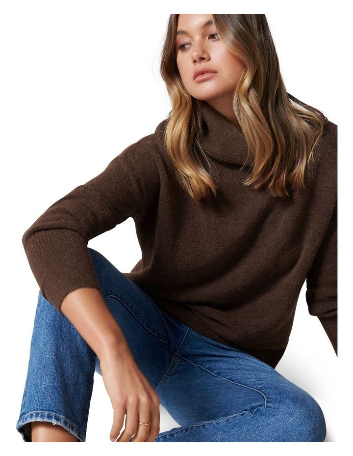Lilly Roll Neck Knit Jumper image 2