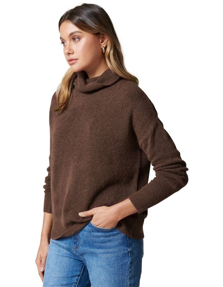 Lilly Roll Neck Knit Jumper image 3