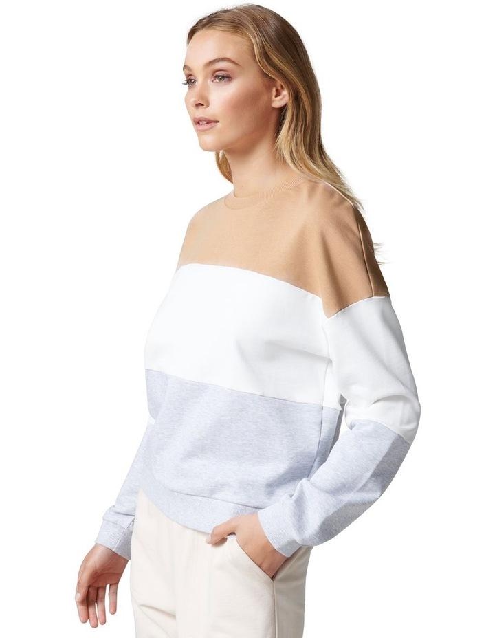 Cassie Colour Block Sweater image 3