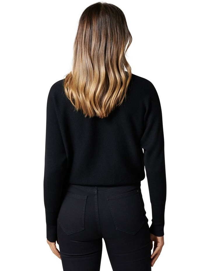 Layla Roll Neck Batwing Knit Jumper image 4