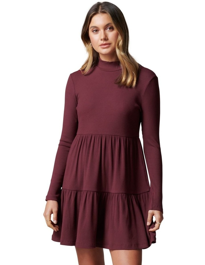 Sloane Long Sleeve Smock Dress image 1