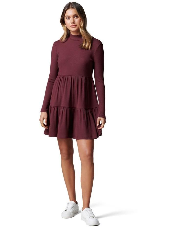 Sloane Long Sleeve Smock Dress image 5