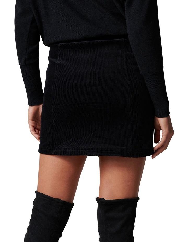 Aurora Button Cord Mini Skirt image 4