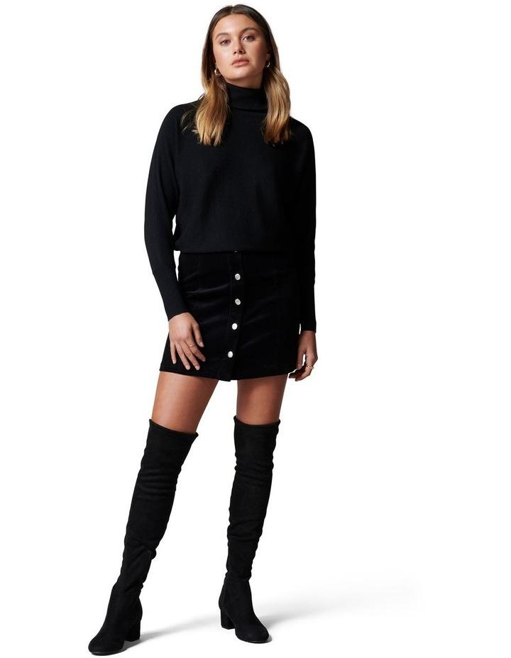Aurora Button Cord Mini Skirt image 5