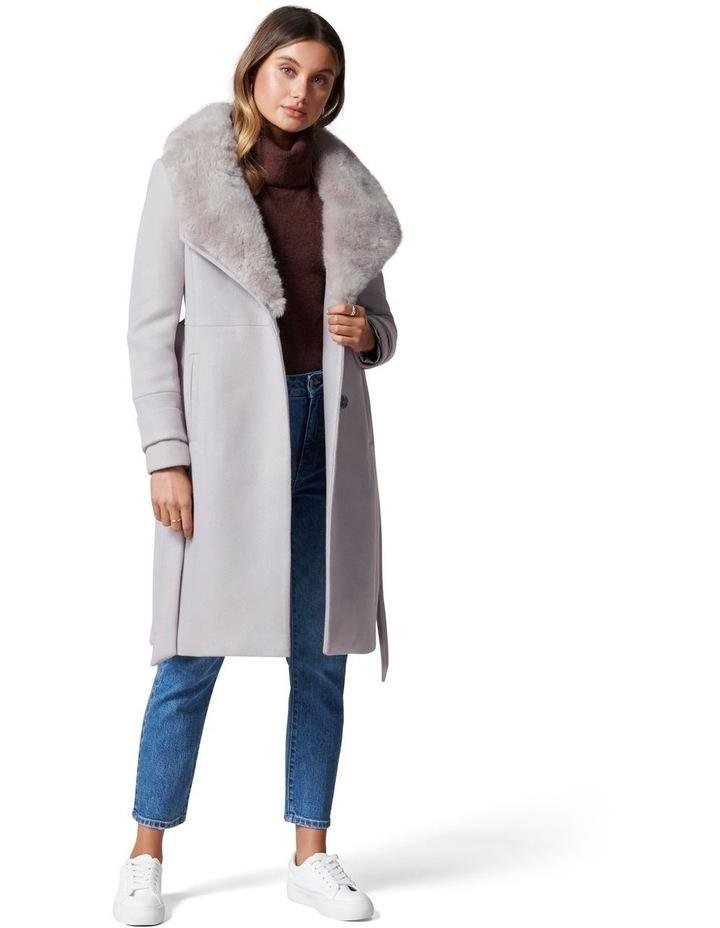 Jamie Fur Collar Coat image 1