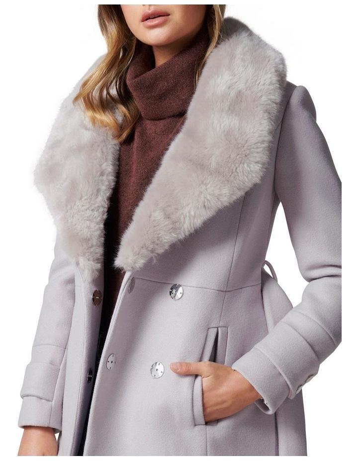 Jamie Fur Collar Coat image 2