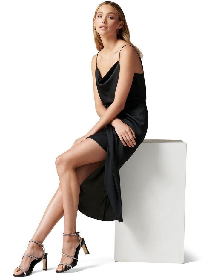 Elise Cowl Neck Midi Dress image 1