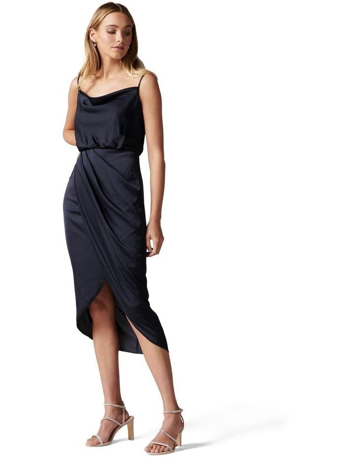 Elise Cowl Neck Midi Dress image 3