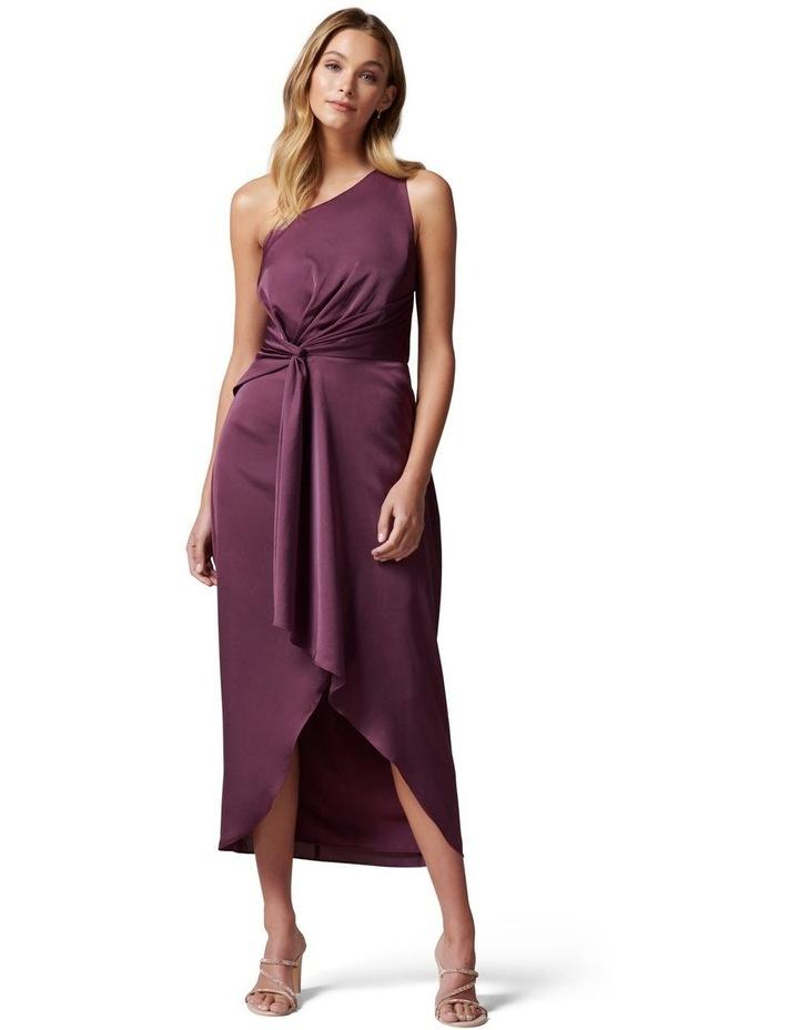 Haidee One Shoulder Midi Dress image 1