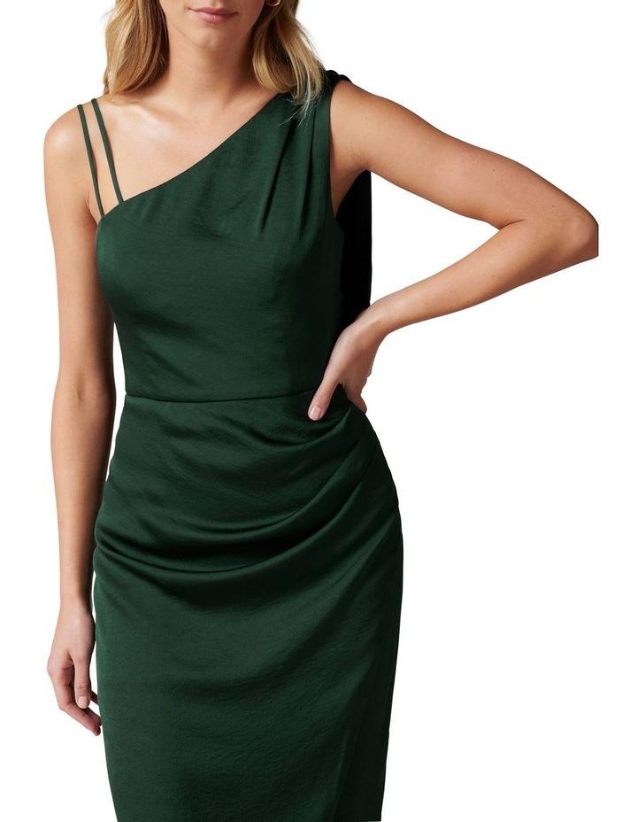 Nikki Strappy Drape Back Midi Dress image 2