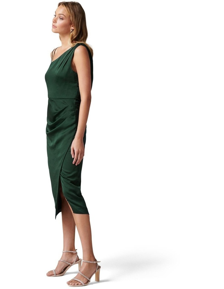 Nikki Strappy Drape Back Midi Dress image 3