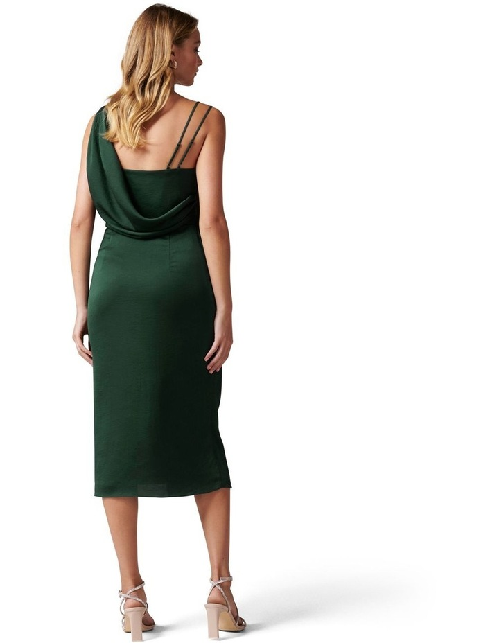 Nikki Strappy Drape Back Midi Dress image 4