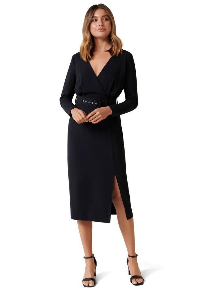 Brigid Belted Workwear Dress image 1