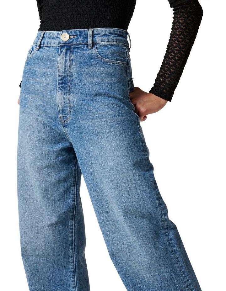 Gia High Rise Wide Leg Jean image 2