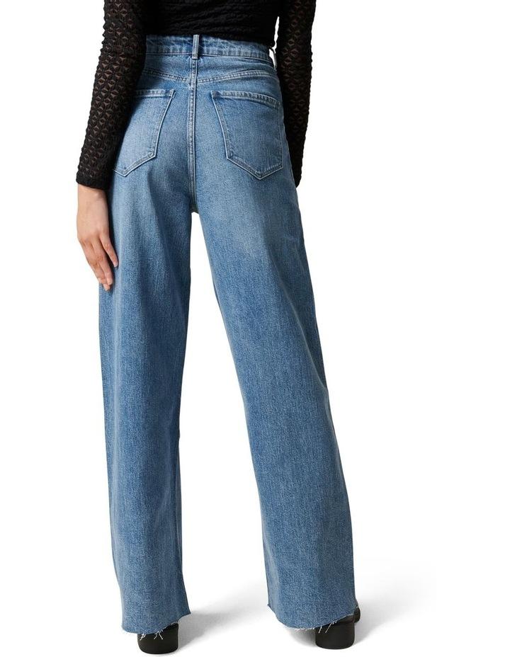 Gia High Rise Wide Leg Jean image 4