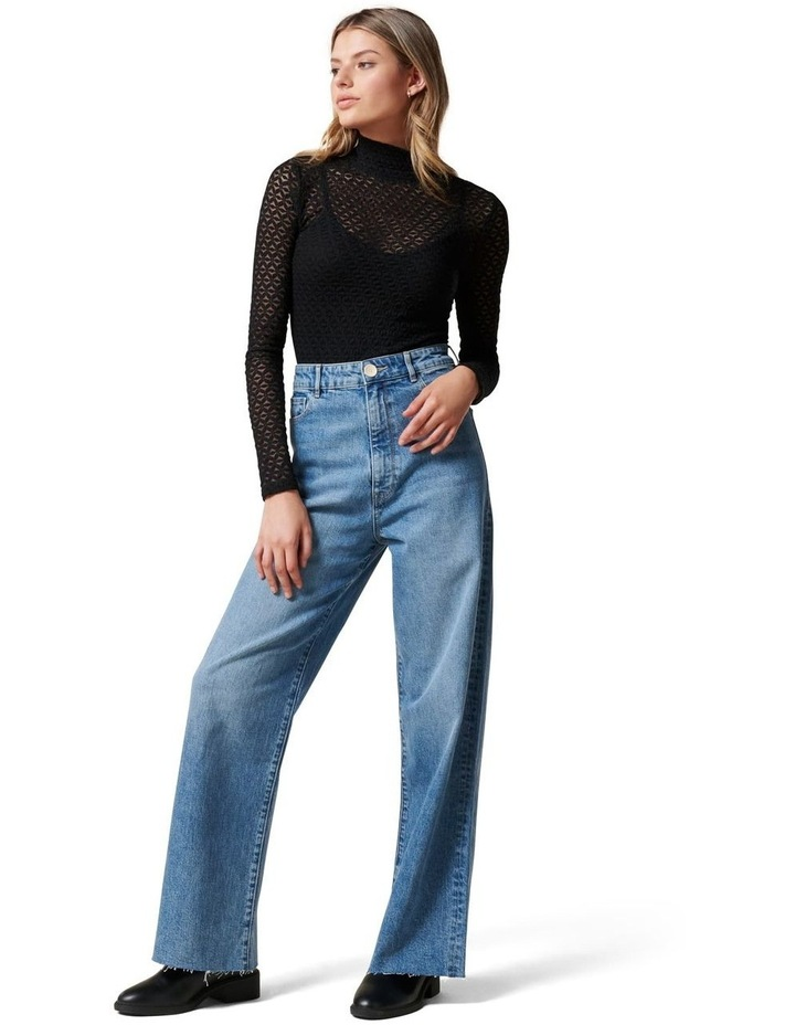 Gia High Rise Wide Leg Jean image 5