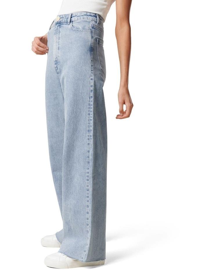 Gia High Rise Wide Leg Jean image 3