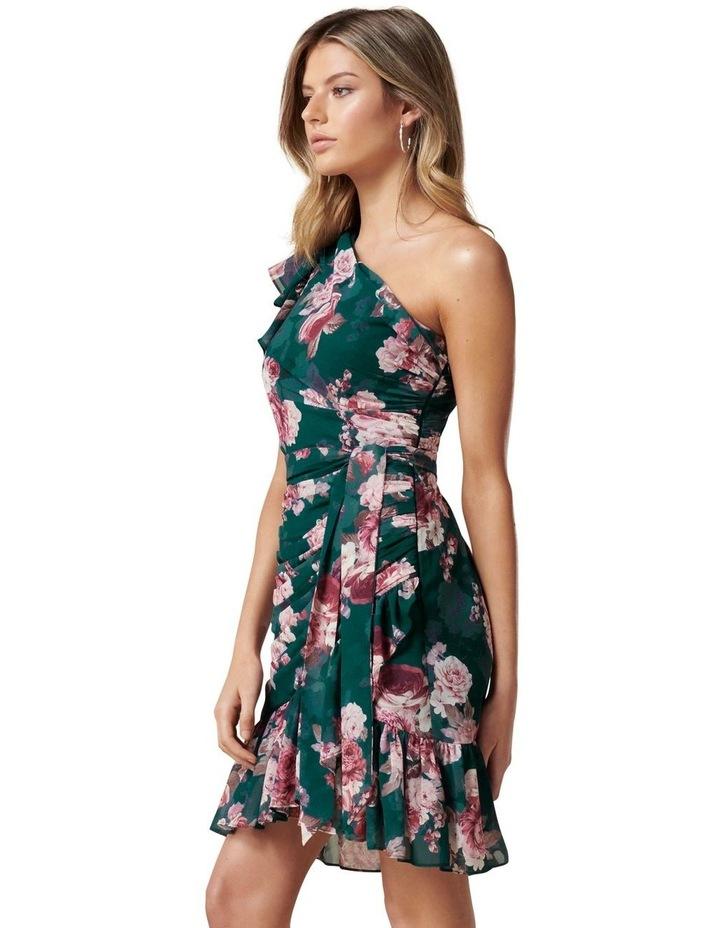 Anna One Shoulder Ruched Mini Dress image 3