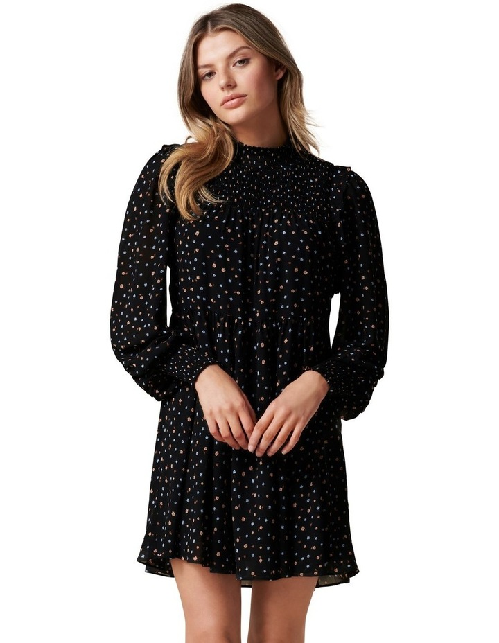 Amity Petite High Neck Mini Dress image 1