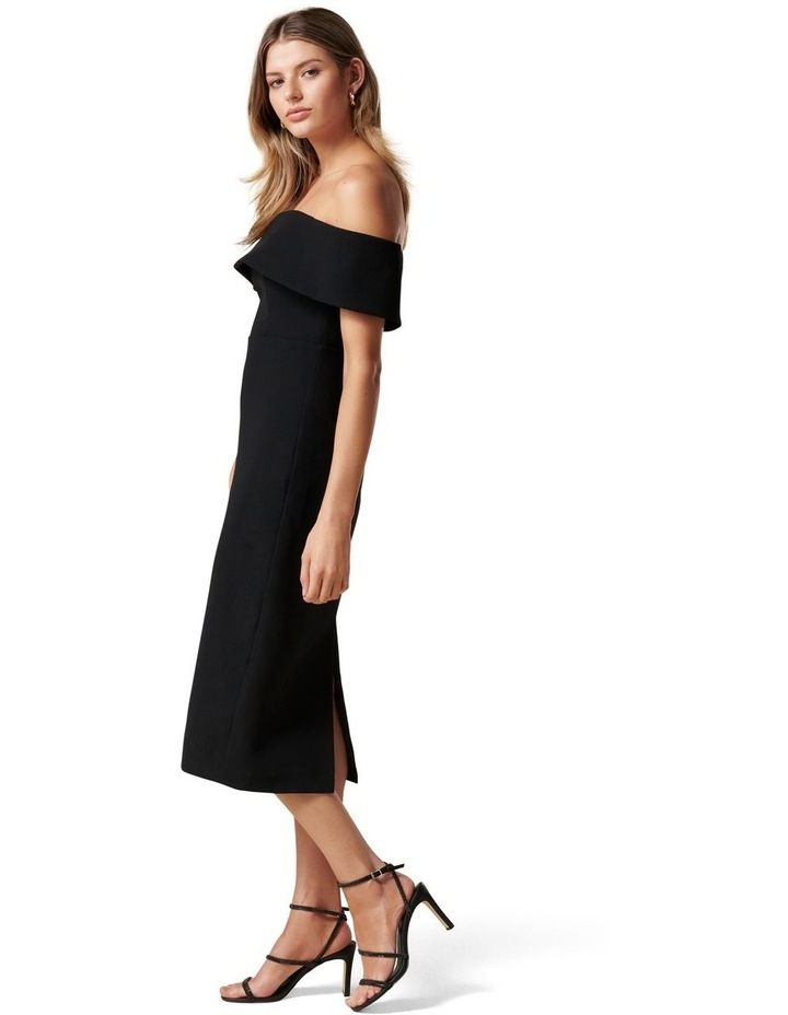 Hermione Off Shoulder Midi Dress image 3