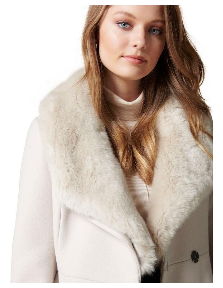 Jamie Fur Collar Coat Petites image 2