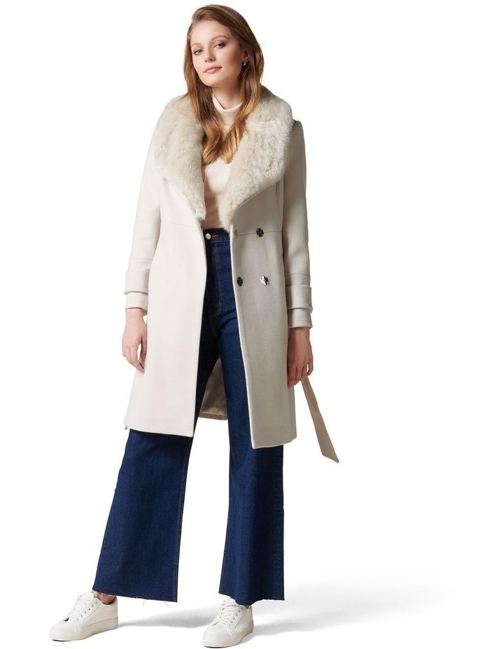Jamie Fur Collar Coat Petites image 3
