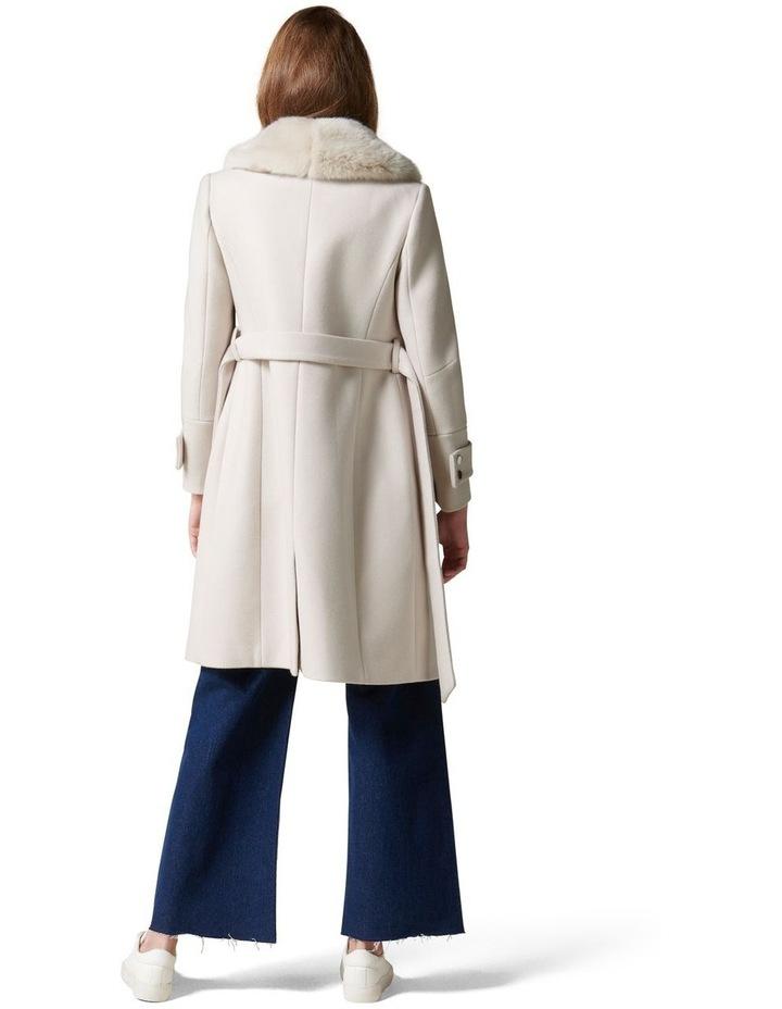 Jamie Fur Collar Coat Petites image 4