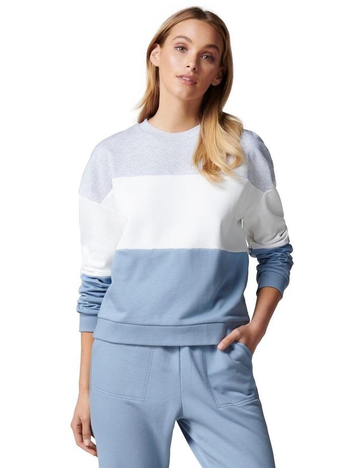 Cassie Colour Block Sweater image 1